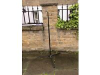 Metal microphone stand