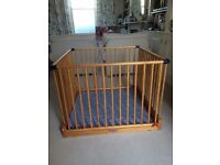 John Lewis Wooden Playpen