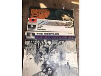 Five Original Beatles Vinyl Albums