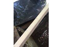 Exterior grade wood post