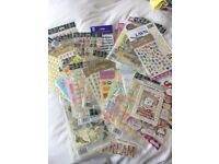 Huge bundle of scrapbook making and card making