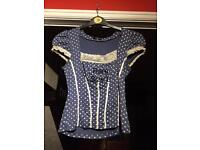 Ladies rare top size 8