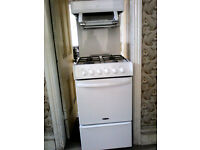freestanding eye level grill gas cooker
