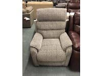 Rise & Recline Fabric Armchairs