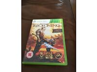 X BOX 360 KINGDOM OF AMALUR RECKONING - EXCELLENT CONDITION