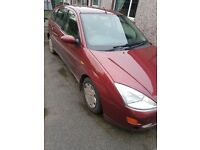 2001 ford focus 1.8 turbo