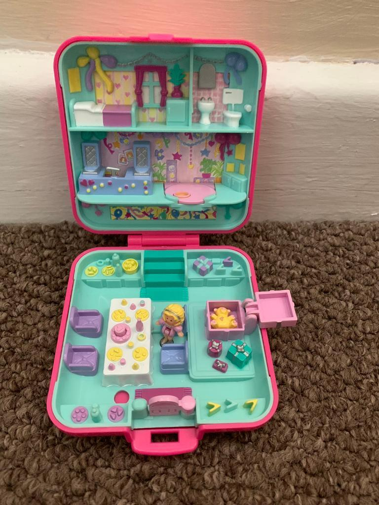 polly pocket ticket game