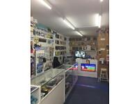 Phone repair and accessories Shop for sale
