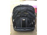 Samsonite laptop backpack nearly new excellent condition