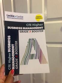 Grade A booster higher business management