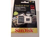 Sandisk Elite 128gb Memory Card