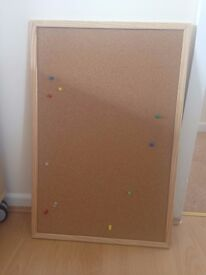 Notice board (with pins as attached in photo)