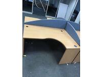 office corner angle desk left or right corner Available