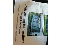 Caravan Awning in excellent condition