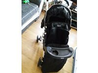 Graco pram with cosy toes extra like new