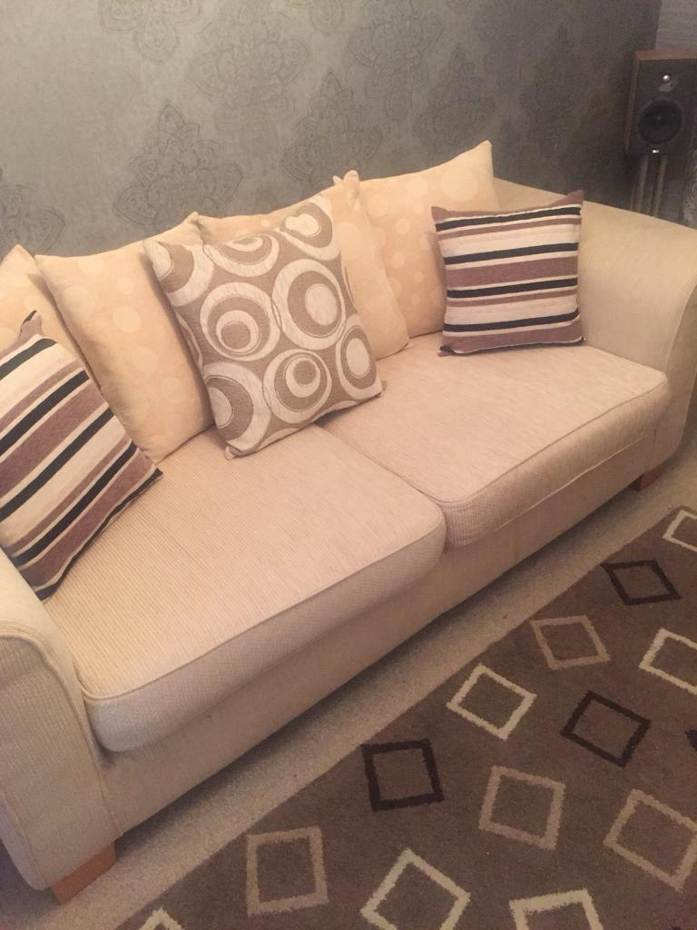 3 seater suite and chair