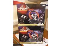 Two TOPDRIVE GT450 steering wheels for XBOX ONE, PC, PS3, PS4