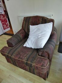 armchairs 2 very comfortable and clean armchairs with fire labels£30 each could deliver