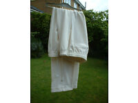 David Gower Cricket Trousers / In good used condition
