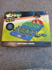Ben 10 Ultimate Alien Guessing game