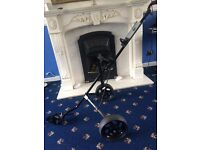 Longridge pull golf trolley