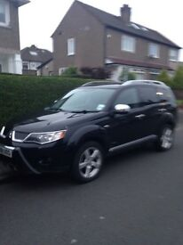 Black Mitsubishi Outlander warrior for sale