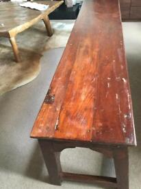 Indian Wooden Bench