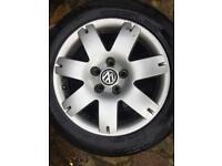 "Vw Passat sport alloy wheels 16"" transporter 5x112 pcd"