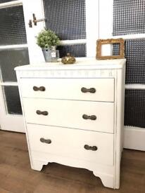 Petite Chest of Drawers Free Delivery Ldn shabby chic