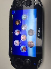 Ps VITA 3G Wifi + games charger case