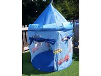 Children's Pop Up play tent for outdoors