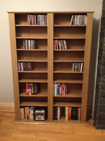Bookshelf/Media Storage Unit