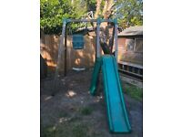 TP Swing, slide, toddler seat and slide extension