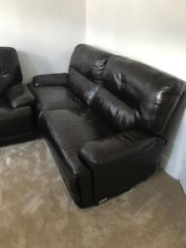 Leather Elactric sofa