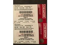 4 or 2x2 Beyonce tickets Glasgow Hampden Park