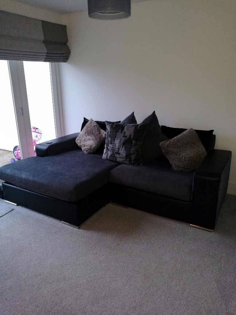 Chaise Long Sofa and Swival Chair