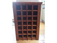 Smart Wooden Wine Rack