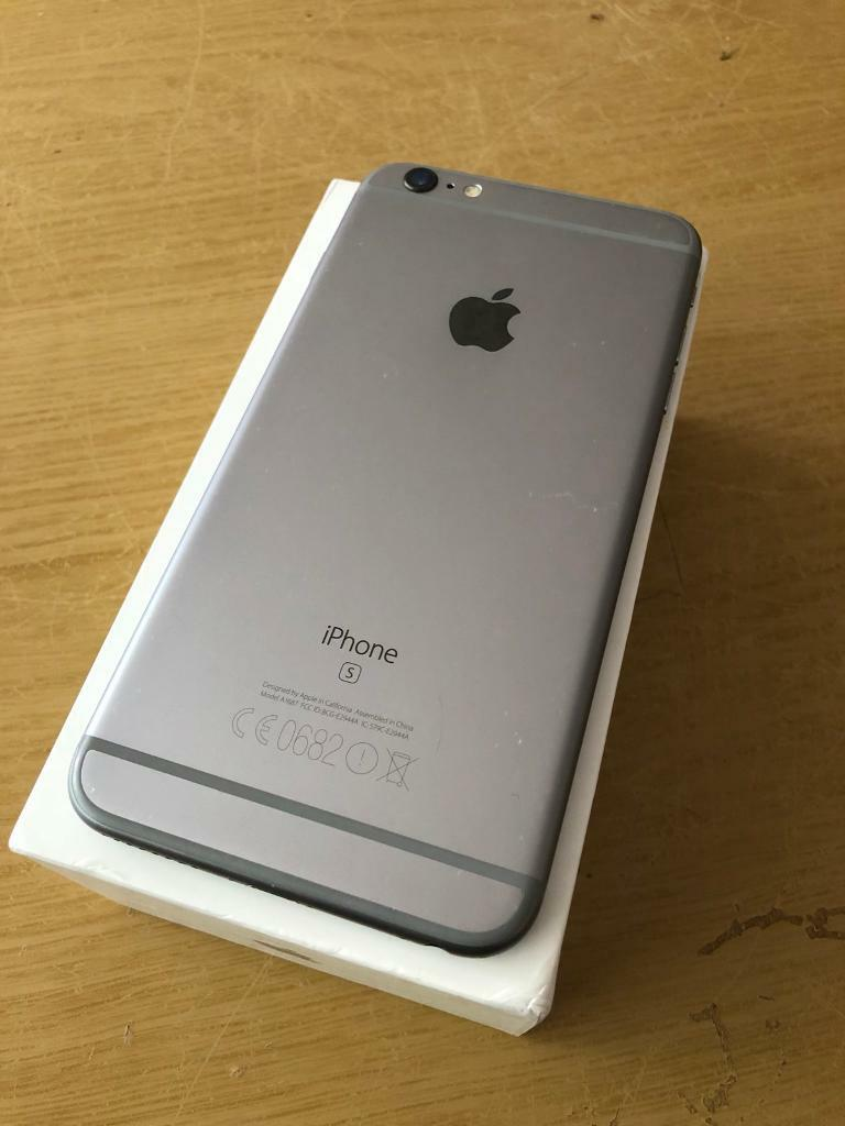 Iphone 6s Plus 64gb Unlocked Gold And Space Grey Good Condition Silver