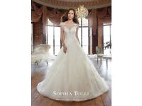 Sophia Tolli Wedding Dress - Y21509 - size 10/12