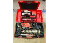 Hilti DDU core drill and rig
