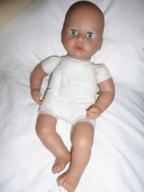 "43cms -17"" crying baby doll"