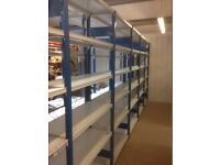 JOB LOT PROVOST industrial shelving 2.1m high ( storage , pallet racking )