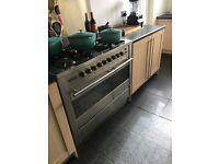 5 hob double oven range cooker