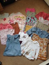 9-12 months girls bundle. Next, Zara, John lewis