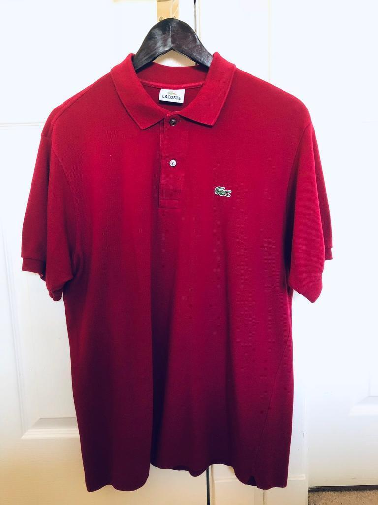 big sale c226b 79ae0 Lacoste polo shirts £20. | in Dalgety Bay, Fife | Gumtree