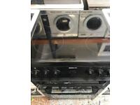 Beko black 60cm full electric cooker