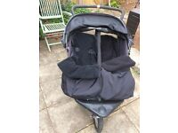 Out 'n' about nipper 360 double buggy
