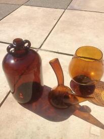 Brown Glassware