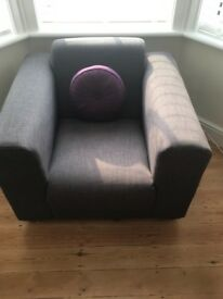 HALF PRICE, BRAND NEW 2 SEATER SOFA AND ARM CHAIR