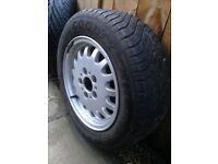 "Genuine BMW 15"" 3 Series Alloy wheel & Tyre"